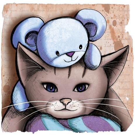 chat doudou