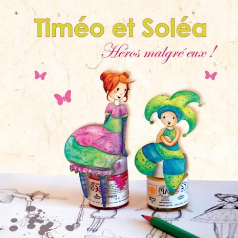 illustration pour la couverture de Timéo et Soléa, Héros malgré eux !