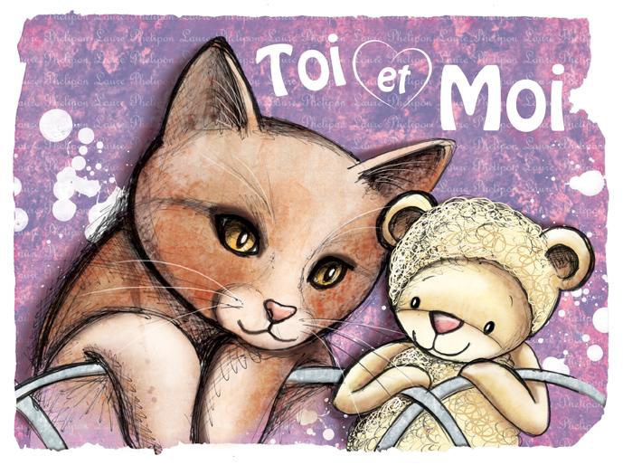 dernières illustrations de doudous et de chats