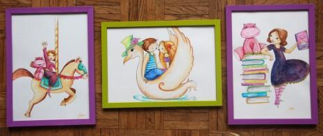 illustration à l'aquarelle d'amoureux