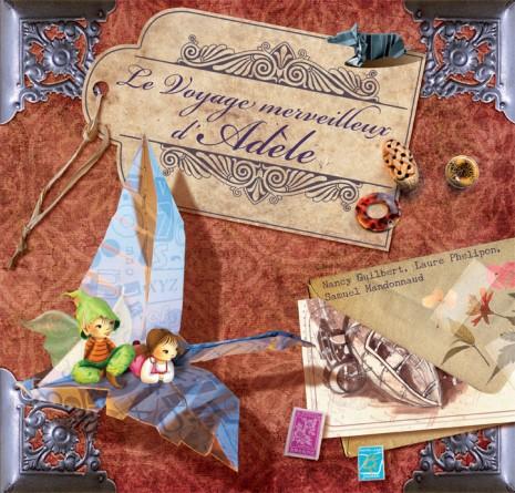 Voyage merveilleux Adele COUV BD