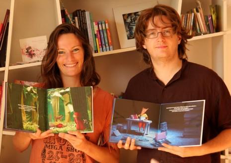 fiers de notre livre pour enfants