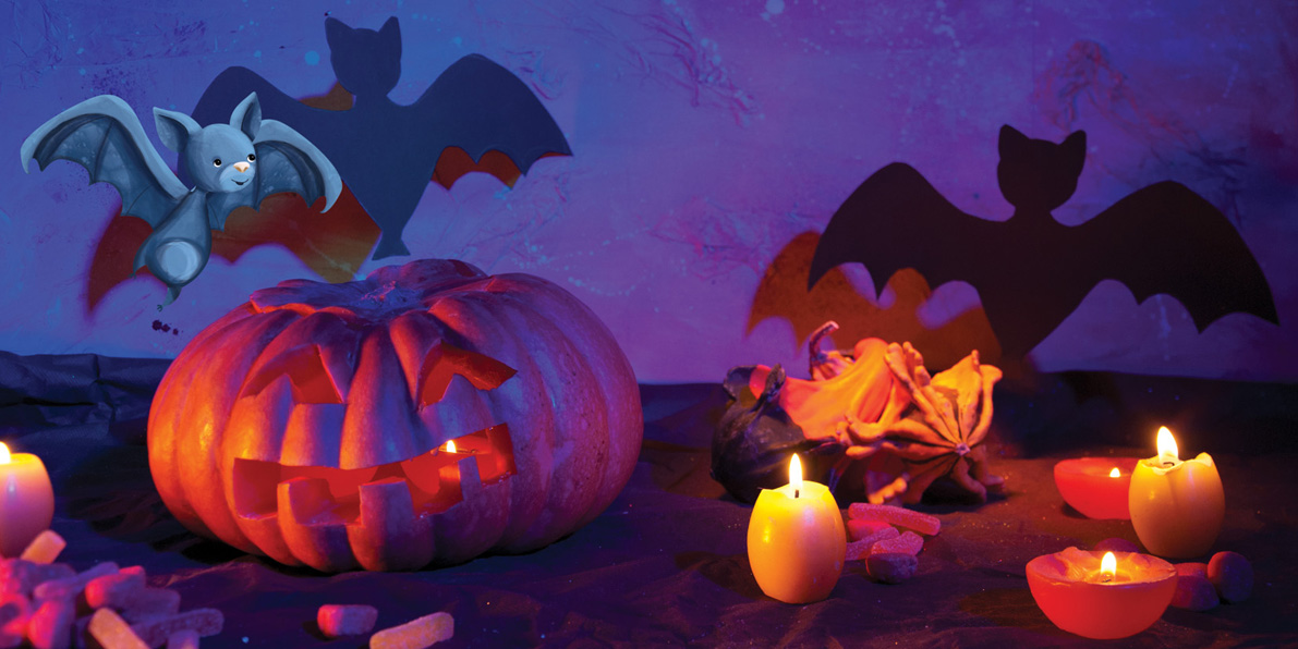 Illustration et ambiance d'Halloween !