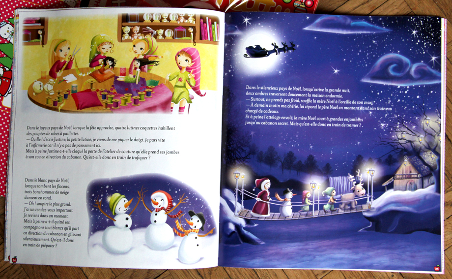 Mes illustrations de noël dans le magasine hello kitty