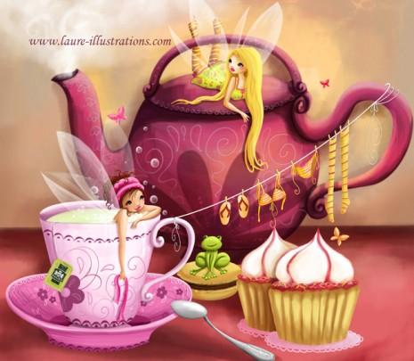 tea time chez les fées