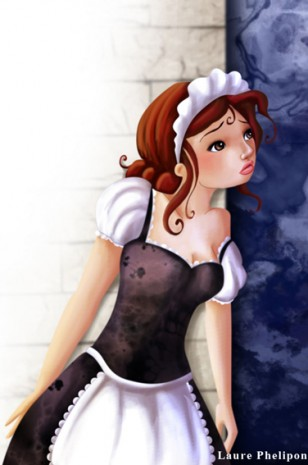 illustration de soubrette