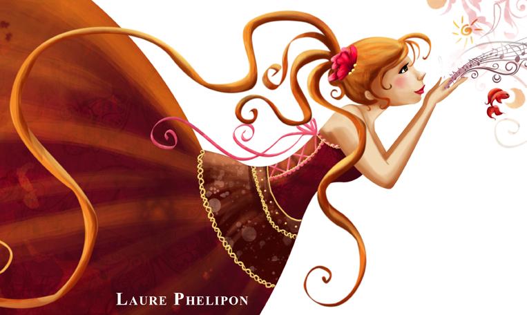 Illustration d'une petite marchande de rêves