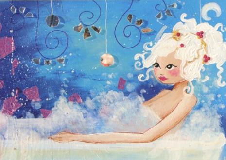 bain bleu