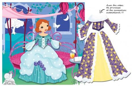 illustration pour mes défilés de mode de princesse