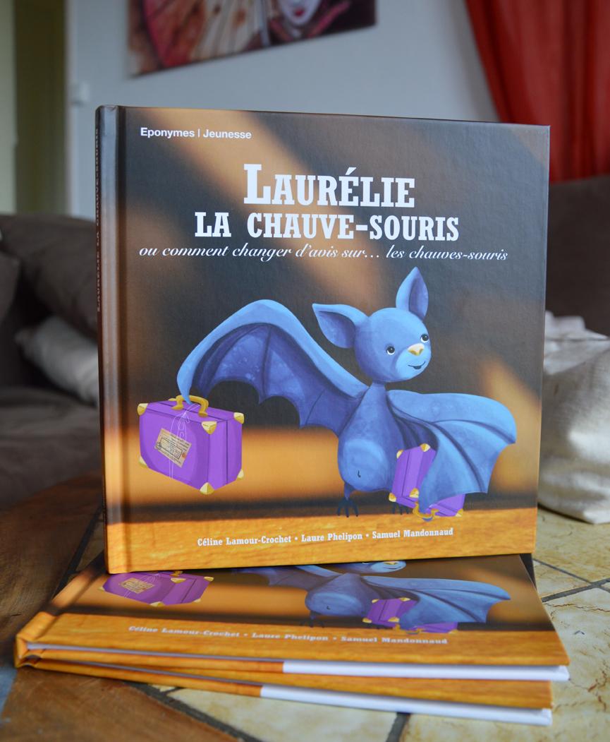 Nouvel album jeunesse : Laurélie, la chauve-souris