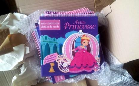 les princesses sortent de leur carton