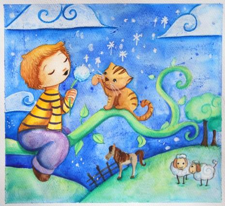 Faire-part original, illustrations personnalisées et jolis livres